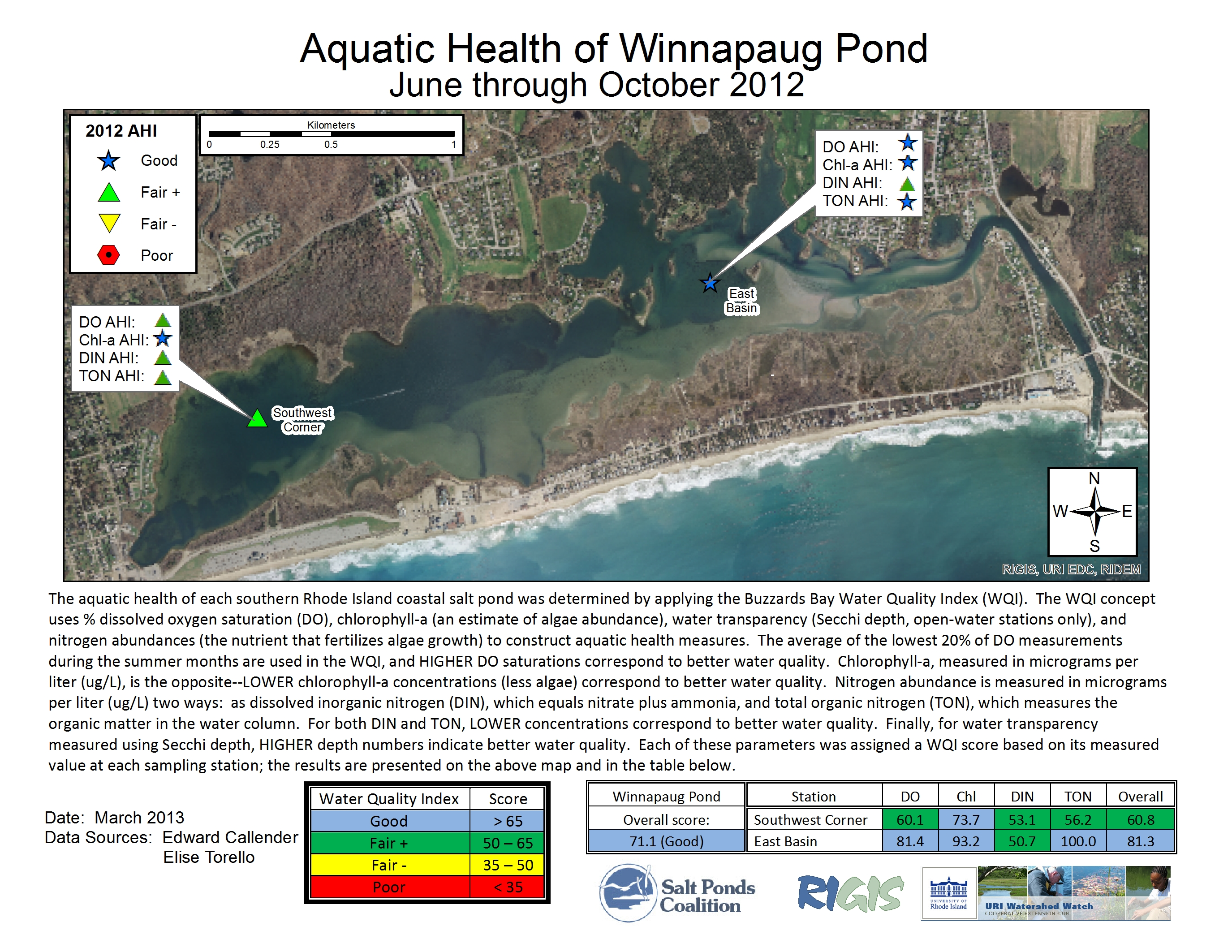 Winnapaug2012g 2012 aquatic health index map nvjuhfo Images