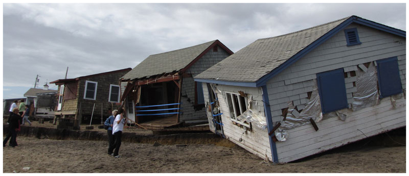 Damage from Sandy